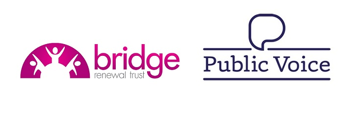 Bridge Public Voice logos